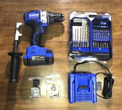 "KOBALT 1/2"" BRUSHLESS Drill/Driver + 4.0Ah Extended Run Ba"