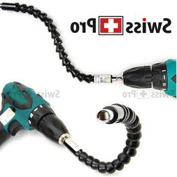 """Magnetic Flexible Extension Screwdriver Power Drill 1/4"""" Bit"""