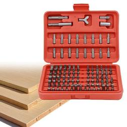 100 Piece Quick Change Drill Bit Kit Screwdriver Set Craftsm