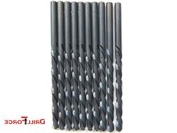 "10PCS 5/32"" Drill Bit Set Black Oxide HSS Jobber Length Twis"