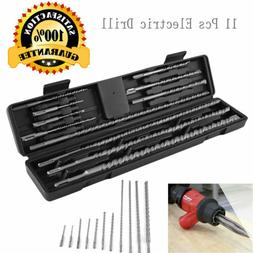 "11 pcs 18"" Long SDS PLUS CONCRETE DRILL BIT SET FITS HILTI B"