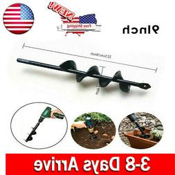 1PC Drill Drive Power Garden Auger Earth Planter Drill Bit P