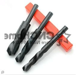 1Pcs 12mm-40mm 1/2 inch Dia Reduced Shank HSS Twist <font><b