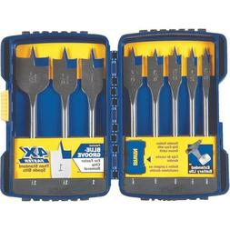 "Irwin 341008 8 Piece Speedbor Spade Drill Bit Set  3/8"" to 1"