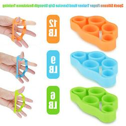 3pack Finger Stretcher Hand Exercise Grip Strength Resistanc
