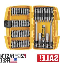 45 Piece Magnetic Screwdriver Bit Set Drill Drive Bits Acces