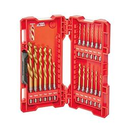 Milwaukee 48-89-4680 18-Piece Shockwave Impact Duty Thunderb