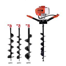 KEANTY 52CC 2-Cycle Post Hole Digger, Gas Powered One Man Ea