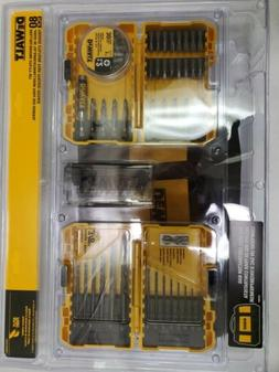 DEWALT 80 Piece Drill Drive Utility Bit Set w Contractor Bag