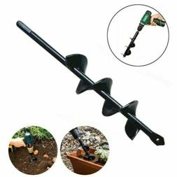 9'' Small Earth Planter Spiral Drill Bit Post Hole Digger Po