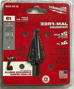 "Milwaukee Electric Tool 48-89-9209 Step Drill Bit, 7/8"" to 1"