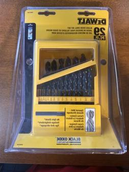 DEWALT Black Oxide Drill Bit Set 29 Piece Power Tool Drillin