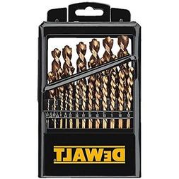 DeWALT 29 Piece Cobalt Pilot Point® Industrial Drill Bit Se