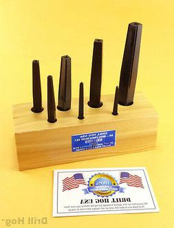 Drill Hog USA Square Easy Out Set Round Screw Extractor Life