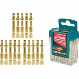 Makita 15 Pack Power Drill Bit 2 inch T25 Torx Impact Driver