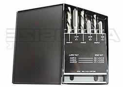 AccusizeTools - 18 Pcs/Set H.S.S. Tap  Drill Set, Metric, #0