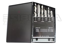 AccusizeTools - 18 Pcs/Set H.S.S. Tap & Drill Set, Metric, 0
