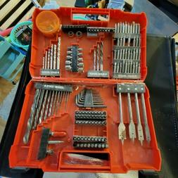 BLACK+DECKER BDA91132 132-Piece Screwdriver & Drill Bits Set