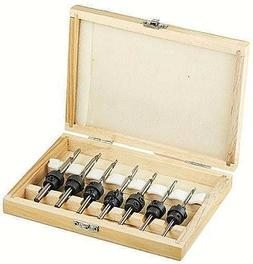 Pit Bull CHIBP7608 Countersink Drill Bit Sets in a Case