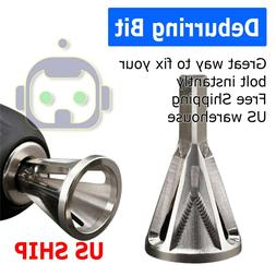 deburring external chamfer tool stainless steel remove