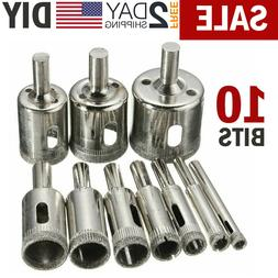 Diamond Hole Drill Bits Cutting Hole Maker Hollow Saw for Gl