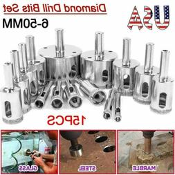 Diamond Drill Bits for Glass Ceramic Tile Porcelain Hole Mak