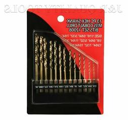 13pc Drill Bit Hex Shank Quick change Set With High Quality