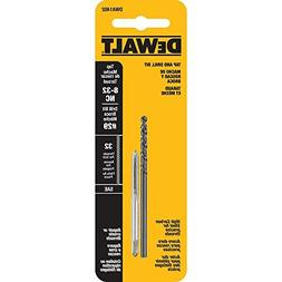 DeWALT #29 Drill Bit and 8 inch x 32 NC Tap -2 piece Tap and