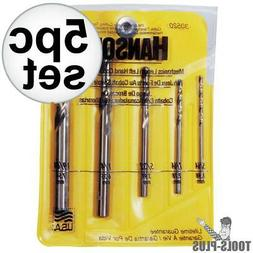 IRWIN Drill Bit Set - Twist Drill Bit: - Cobalt, High Speed
