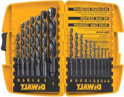 DEWALT DW1167 17-Piece Black-Oxide Split-Point Twist Drill B