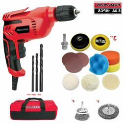 Electric Drill Set HSS Drill Bit Sponge Sanding Wheel Brush