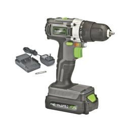 Genesis GLCD2038A 20V Lithium-ion Cordless Drill Driver, Gre