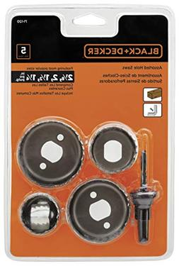 Black & Decker Hole Saw Set