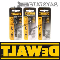 DeWalt Impact Driver Ready 3-Pc Socket Adapter Set DW2541IR,