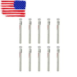 "10pcs 6mm 1/4"" Inch Diamond Coated Core Drill Drills Bit Hol"