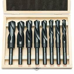 "8pc Jumbo Silver & Deming Drill Bit Set 1/2"" Inch Industrial"