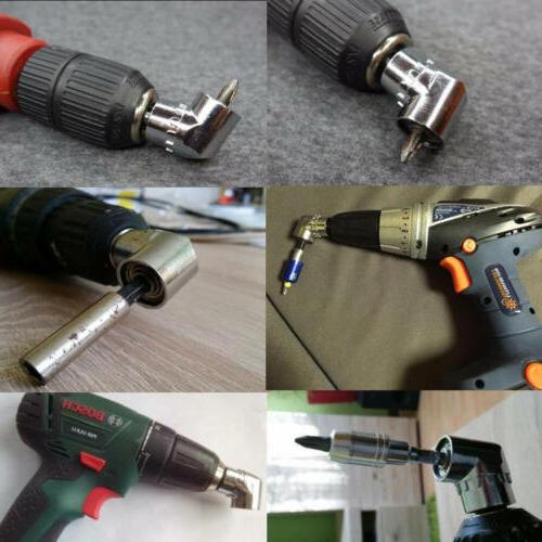 105°Angle Extension Drill Socket Holder Adaptor New