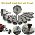 10pc carbide tip tct hole saw cutter