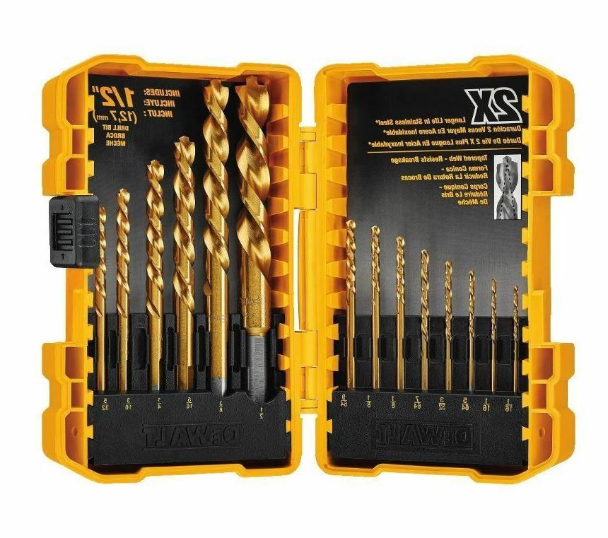 Dewalt Pilot Point Set Wood Drilling