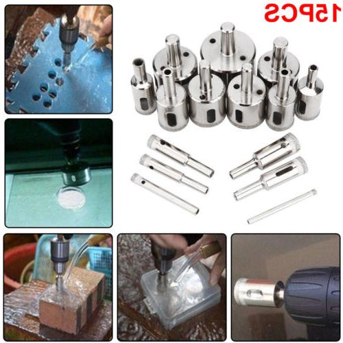 15P Drill Bit Saw Cutter Metal Glass