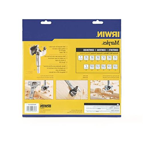 Irwin Tools Wood Drilling Forstner Set