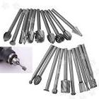 20Pcs 3mm Shank HSS Router Grinding Burr Drill Bits Sets For