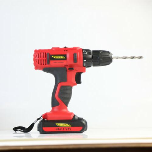 21-Volt drill Electric Drill with Bits Set &