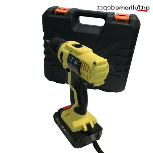 21-Volt drill 2 Cordless Drill/Driver with Bits