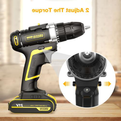 21V 2 Electric Drill with Battery US