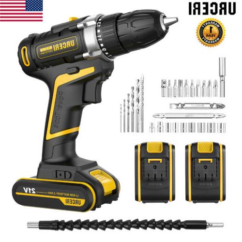 21v max batteries cordless electric 2 speed