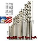 25 Piece High Speed Mini Drill Bit for Metal Wood Plastic Se