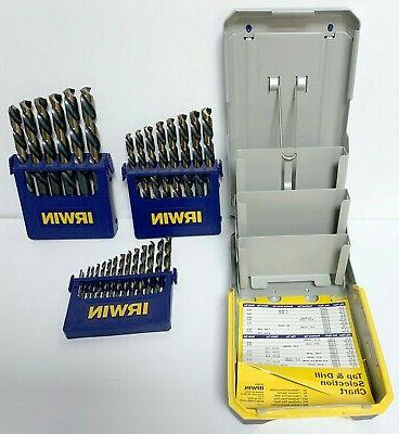 "IRWIN PC AND GOLD BIT 1/16 1/2"" BY"