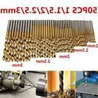 MOHOO 50PCS 1/1.5/2/2.5/3mm HSS Shank High Speed Steel Mini