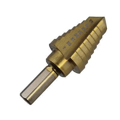 "ABN | 3/8"" Inch Dr Step Bit 9/16"" to 1"" Titanium Step"